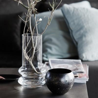 Vase FORMS aus Klarglas von house