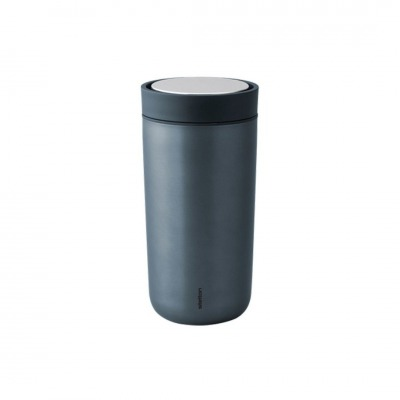 TO GO CLICK - THERMOBECHER XTRA-THERMO - metallic blau - STELTON