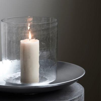 Kerzenhalter SOLAPUR antikes Zinkfinish von house