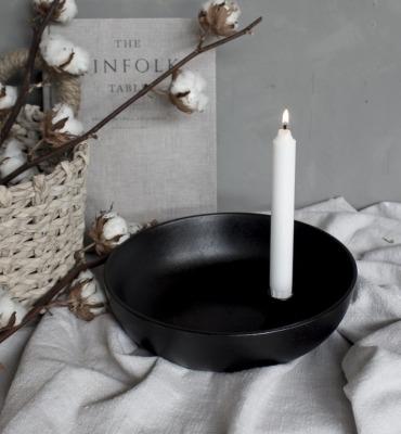 Lidatorp XL glossy black von Storefactory