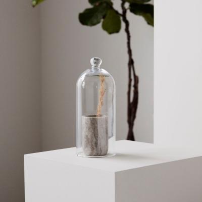 Glasglocke / H28cm D12cm - von