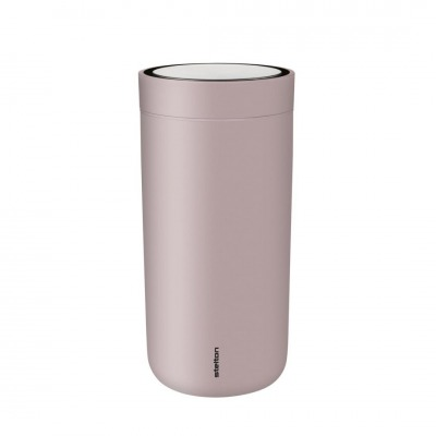 TO GO CLICK - THERMOBECHER XTRA-THERMO - matt lavendel - STELTON