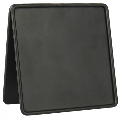 Tischtafel quadratisch - aus Metall