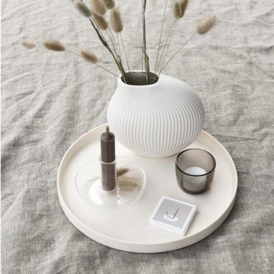 Lerbäck Keramikvase weiß von Storefactory Scandinavia