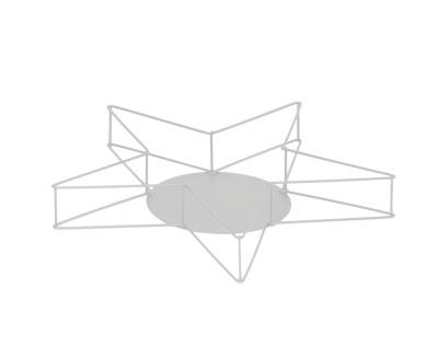 Dekostern Artax weiss - D37x55cm
