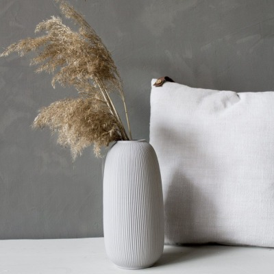 Aby Keramikvase hellgrau von Storefactory Scandinavia