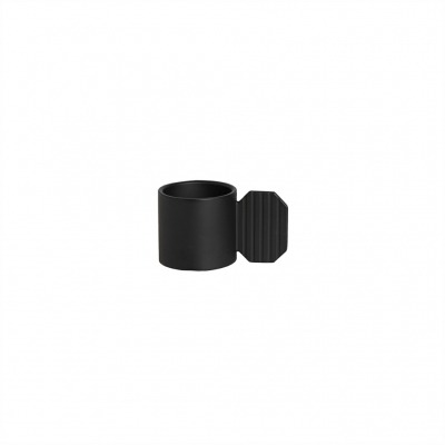 Kerzenhalter Art hexagon schwarz von OYOY