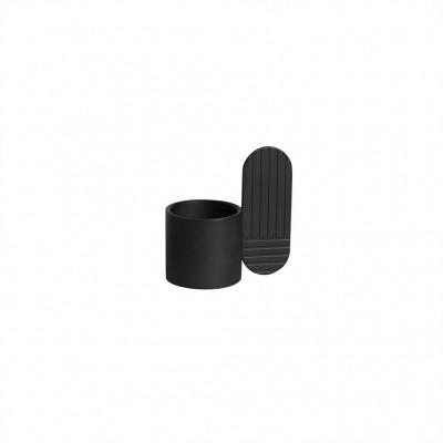 Kerzenhalter Art oval schwarz von OYOY