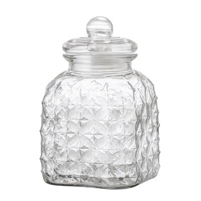 Glasdose mit Deckel klein von Bloomingville