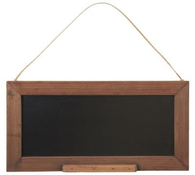 Tafel in Holzrahmen - zum Aufhängen