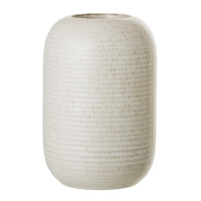 Vase Steinzeug Natur, gesprenkelt H16,5cm - von Bloomingville