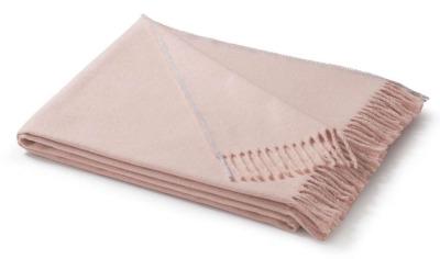 Fransenplaid rosa 130x170cm - von Biederlack