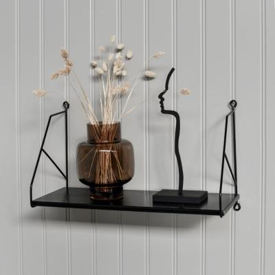 Regal schwarz aus Metall - Storefactory