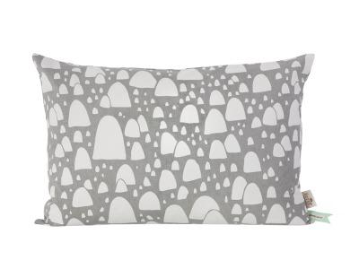 Gebirgsoberseitenkissen - Grau - B: 60 x H: 40 cm - von Ferm Living