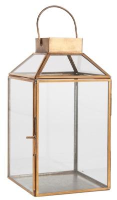 Laterne Norr klein mit schrägem Glastop