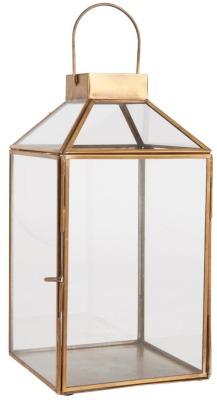 Laterne Norr groß mit schrägem Glastop