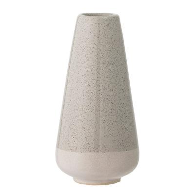 Vase grau/grün Steinzeug H 16,5cm - von Bloomingville