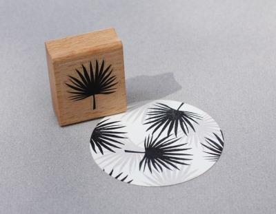 Stempel Palmenblatt - von Perlenfischer