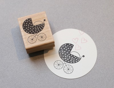 Stempel Kinderwagen - Stempel Kinderwagen