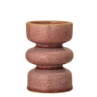 Kerzenhalter Rose, Steinzeug H11,5cm - von Bloomingville