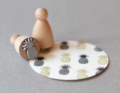 Stempel Ananas klein - Stempel Ananas klein