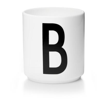 Porzellanbecher B - Design Letters