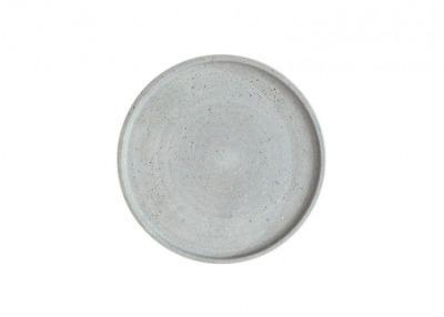 grauer Kerzenteller BENNY 30cm Durchmesser von