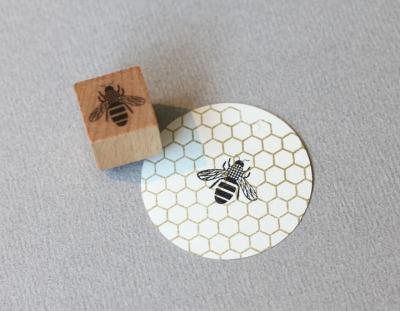 Stempel Biene - von Perlenfischer