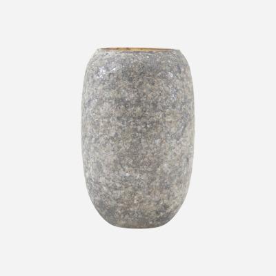 Vase Earth Grün/Grau von house doctor