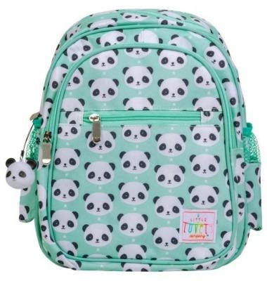 Rucksack: Panda von little lovely company