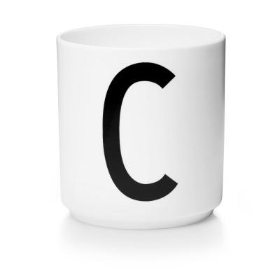 Porzellanbecher C - Design Letters