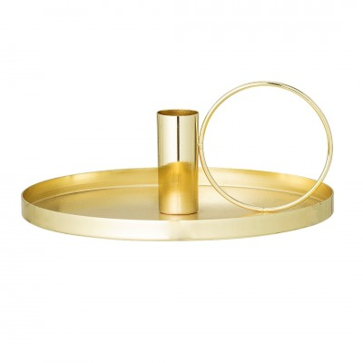Kerzenhalter Gold - Eisen