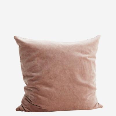 Kissenbezug Velvet, helle Pflaume - 50x50 cm