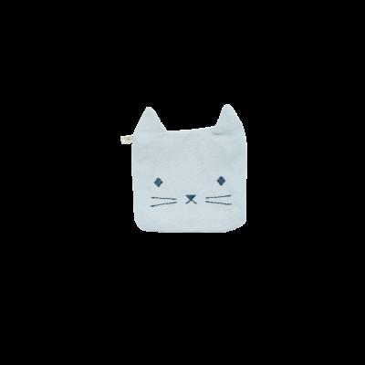 Geldbörse - Cuddly Cat - blau
