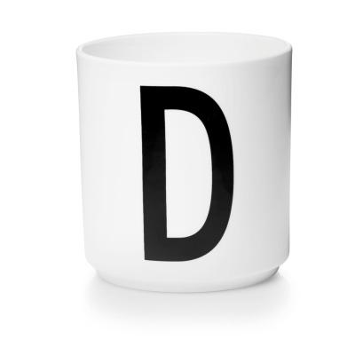 Porzellanbecher D - Design Letters