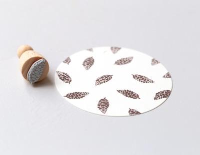 Stempel Tannenzapfen klein - von Perlenfischer