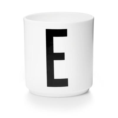 Porzellanbecher E - Design Letters