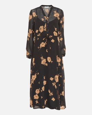 Kleid Elora Rosalie - black flowers