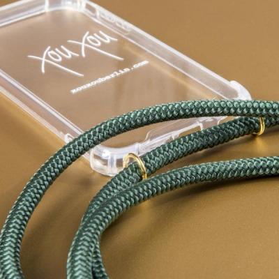 Smartphone Halskette - iPhone X - emerald - von XouXou