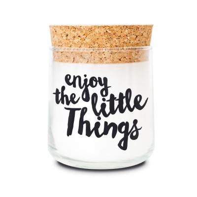 Duftkerze enjoy the little things ylang, ylang - von feelgooodcandle
