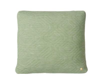 Steppkissen - grün - 45 x 45 - von Ferm Living
