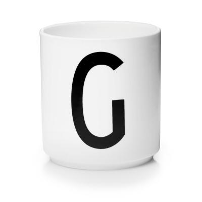 Porzellanbecher G - Design Letters
