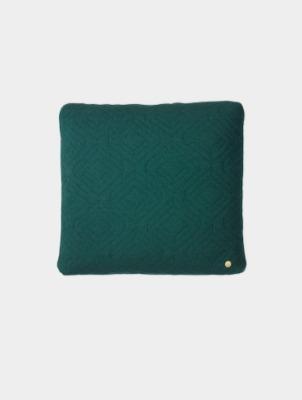 Steppkissen - Dunkelgrün - 45 x 45 - von Ferm Living