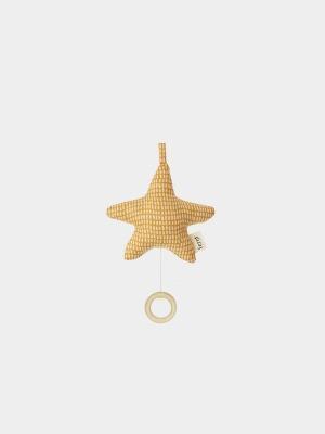 Spieluhr STAR - gelb