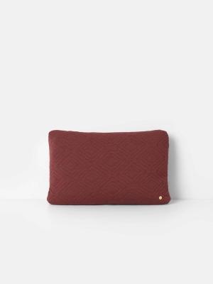 Kissen - Quilt Cushion - Rust - 60 x 40 - von Ferm Living