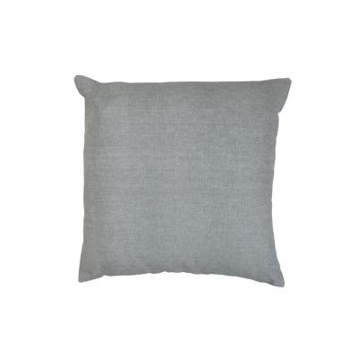Kissen chambrey grau uni - 40x40cm