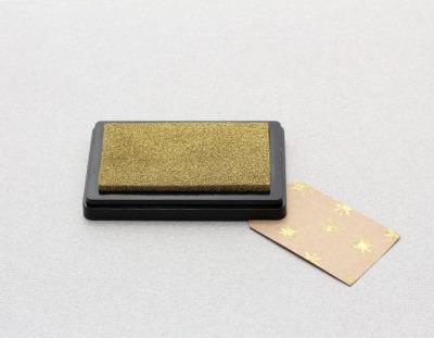 Stempelkissen Gold - Stempelkissen Gold