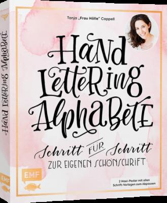Buch Handlettering Alphabete von EMF Verlag