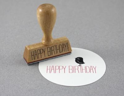 Stempel Happy Birthday 2 - von
