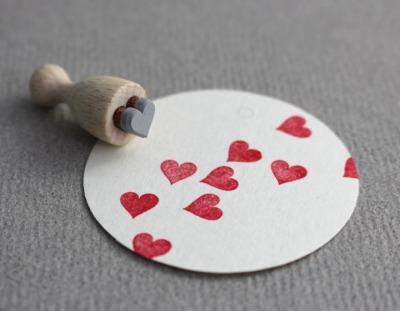 Stempel Herz mini Stempel Herz mini